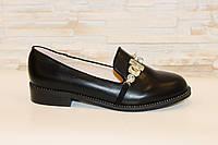 Туфли женские черные Т884