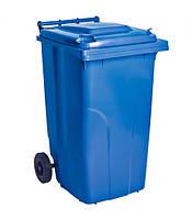 Контейнер для ТБО - 240 л,пластик,Украина синий