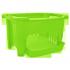 Корзина для хранения овощей салатовая,пластик