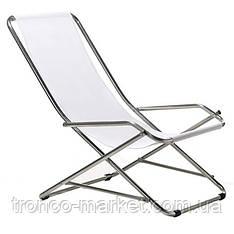 Кресло-шезлонг Dondolino (алюминий+ткань)