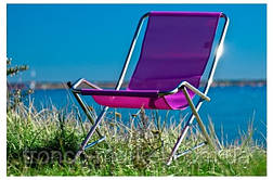 Кресло-шезлонг Dondolino (алюминий+ткань), фото 3