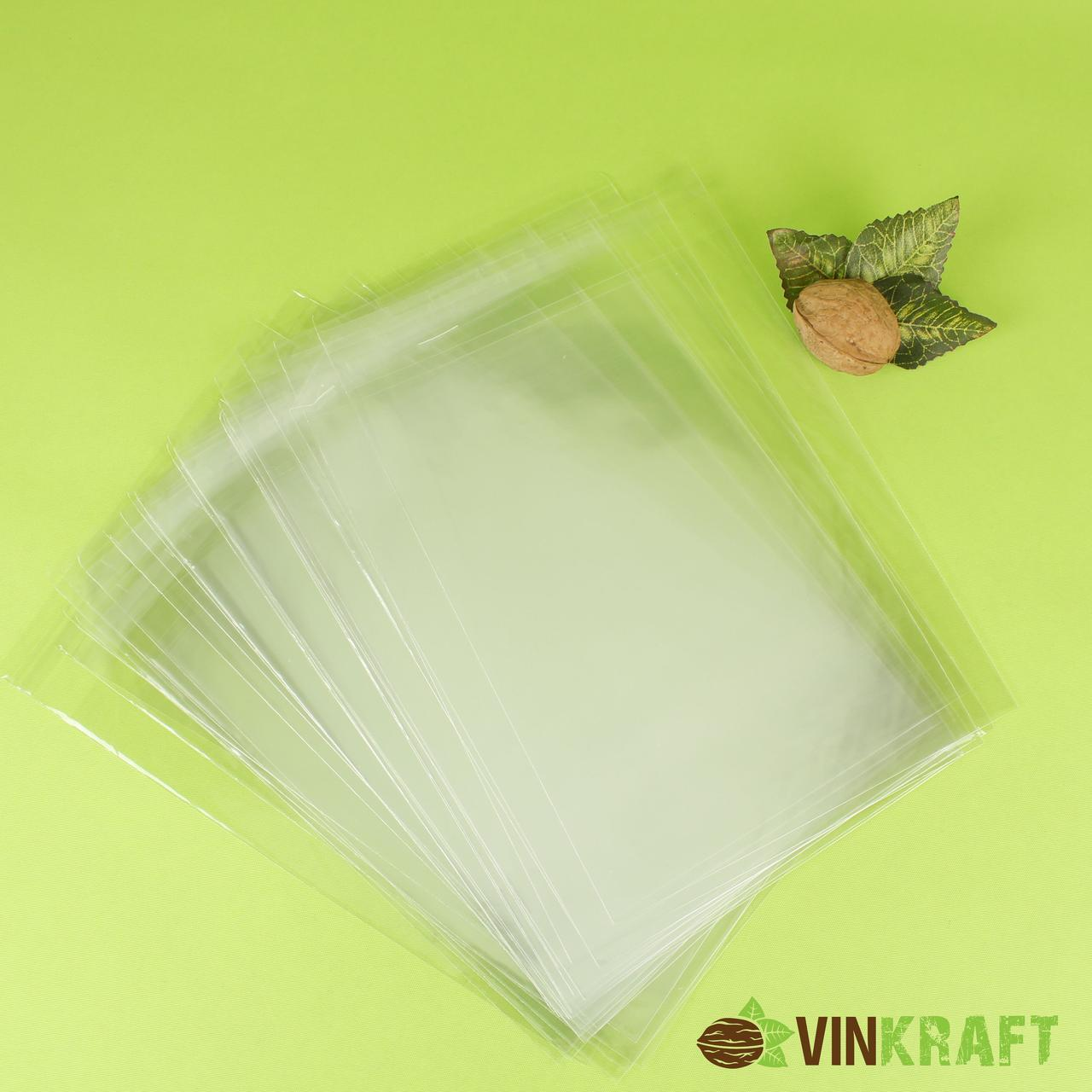 Пакет 10,5*15 см (липкою стрічкою) поліпропіленовий  (100 шт)
