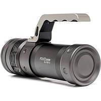Мощный ручной тактический фонарь - прожектор с зумом Police BL-T801 8000Lm 158000W, Акция