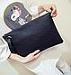 Сумка конверт женская черная код 3-360, фото 5