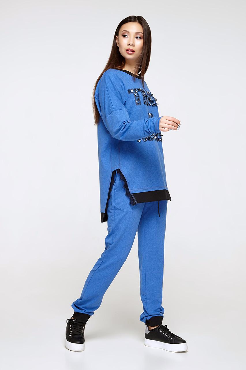 2280 костюм Карат, голубой (S)