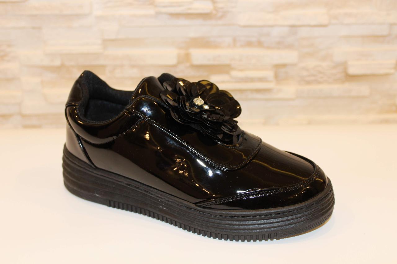 Туфлі жіночі чорні Т24