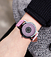 Наручные женские часы с розовым ремешком код 400, фото 3