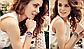 Наручные женские часы с розовым ремешком код 400, фото 5