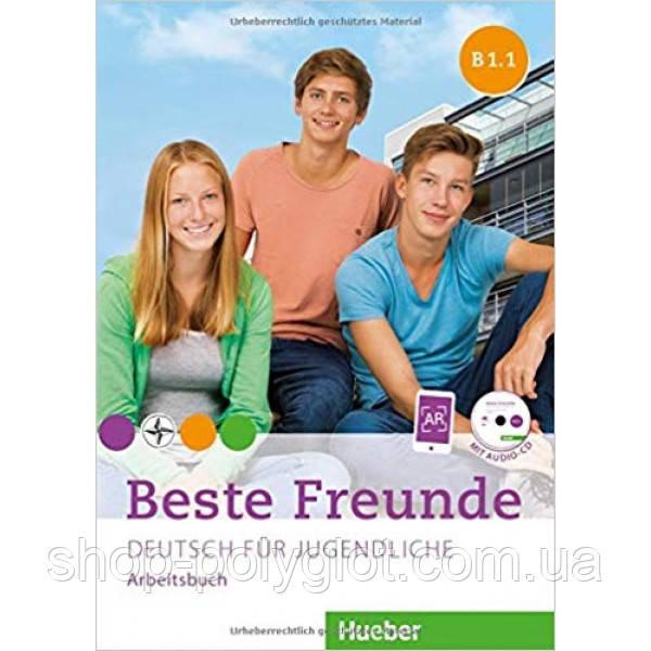 Beste Freunde B1.1 Arbeitsbuch mit CD-ROM