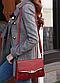 Сумка женская красная с кошельком код 3-388, фото 3