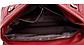 Сумка женская красная с кошельком код 3-388, фото 6