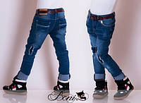 Детские джинсовые штаны для девочки 2 - 10Милуся