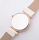 Модные наручные женские часы с черным ремешком  код 423, фото 3