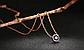 Позолоченная женская цепочка с кулоном код 1460, фото 5