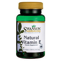 Swanson Premium Natural Vitamin E 200 МЕ (150 мг) 100  ЖК