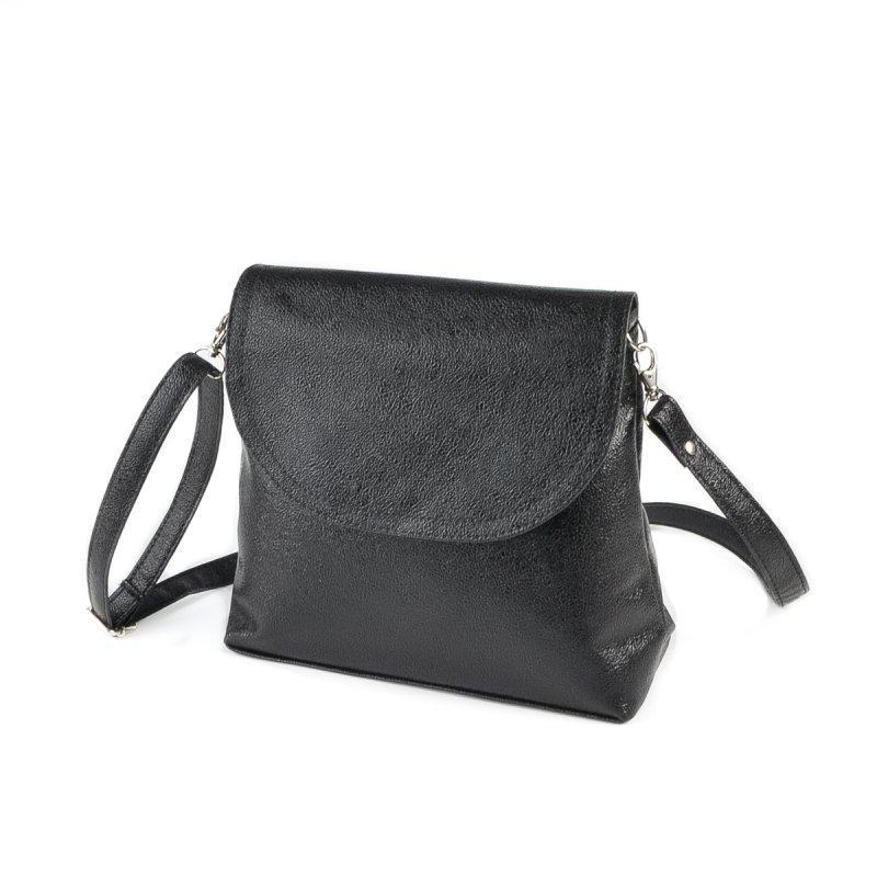 Жіноча чорна сумка код 15-171
