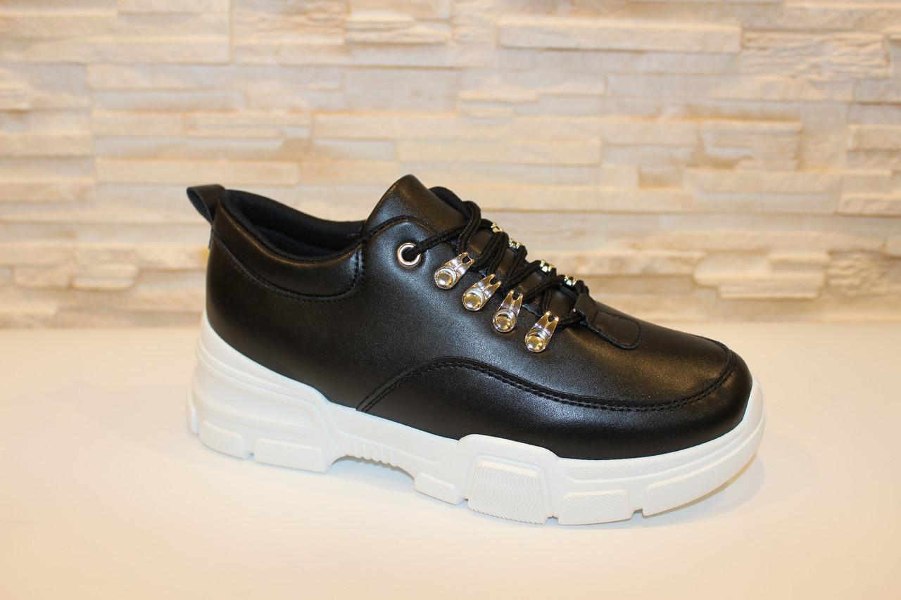 Кросівки чорні код Т186