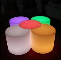 Led  стул Noblest Art  для баров, кафе, событий с изменением цвета  50 см (LY3075)
