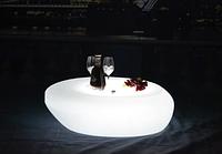 Led  столик Noblest Art  для баров, кафе, событий с изменением цвета 89 см (LY3076) , фото 1