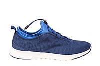 Весенние - летние мужские кроссовки сетка, синие. Размеры 42, 43. Restime 19754.