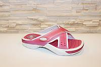 Шлепанцы женские RIDER розовые пляжные на липучках Б738, фото 1