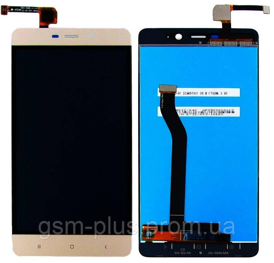 Дисплей Xiaomi Redmi 4 Pro / Redmi 4 Prime complete with touch Gold