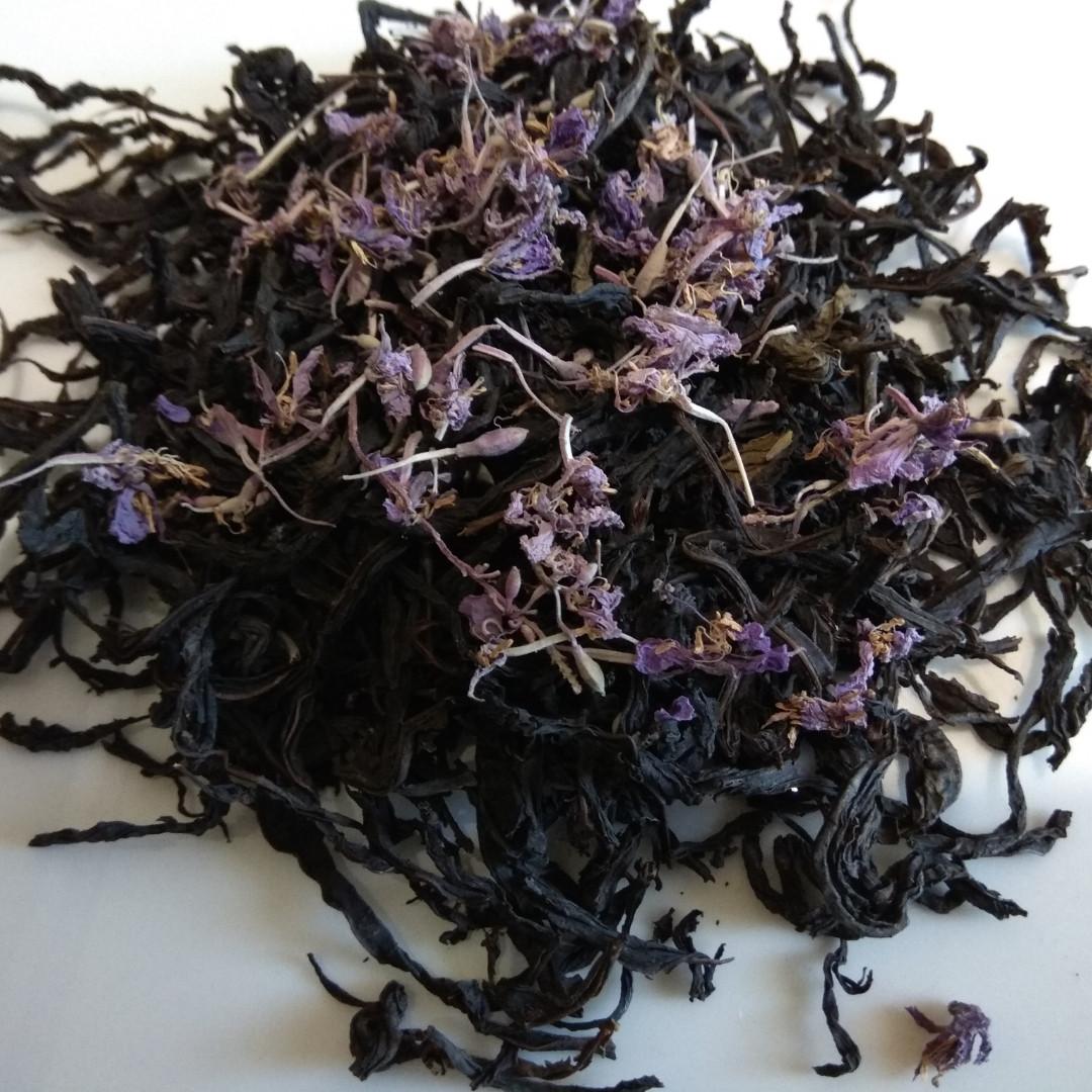 500г. Іван чай лист скручений  (ферментований) з цвітом, 500г.