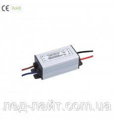 Драйвер світлодіодів 10Вт 900мА 12-30В DC IP65