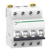Автоматический выключатель Schneider electric Acti9 серии IK60 4p 63 А