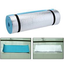 Килимок туристичний килимок 180*50*0,8 G01А2 EVA фольга щільний для кемпінгу підстилка