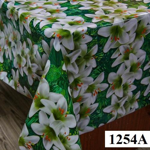 Клеенка (1254A) силиконовая, без основы, рулон. Китай. 1,37м/30м