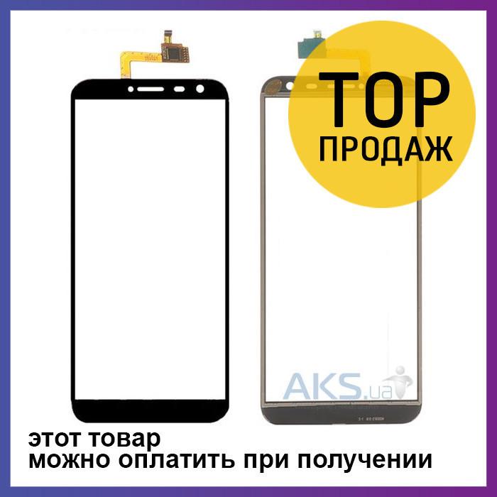 Сенсорный экран для мобильного телефона Oukitel C8, черный, ORIG