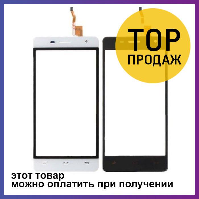 Сенсорный экран для мобильного телефона Oukitel K4000 Lite, черный, ORIG