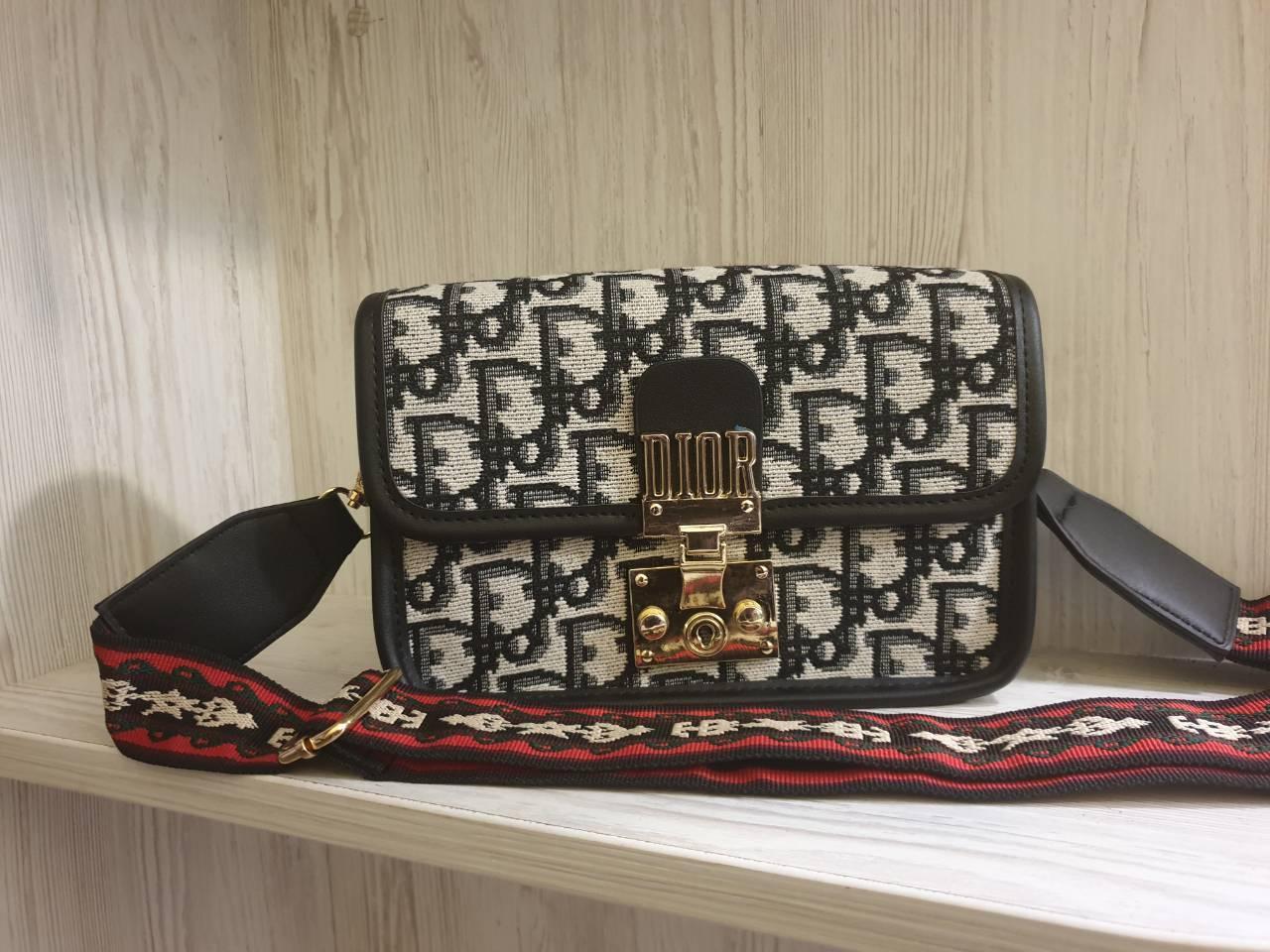 e6fe15f3b3fe Женская сумка классическая Christian Dior logo реплика - Strelecia -  интернет-магазин женских сумок,