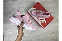 Кроссовки Nike 7485 розовые, фото 1