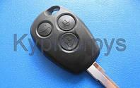 Корпус ключа для RENAULT Traffic (Рено Трафик) 3 кнопки, лезвие NE 73