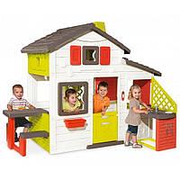 Детский игровой домик с чердаком и летней кухней Smoby  810200