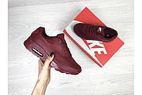 Кроссовки Nike 7481 бордовые, фото 1