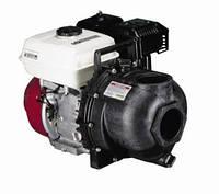 Мотопомпа HONDA (двигатель 6.5 л.с), насос BANJO (США), 1100 л/мин