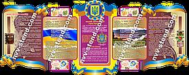 """""""ДЕРЖАВНІ СИМВОЛИ УКРАЇНИ"""" Комплект стендів СИМ-005"""
