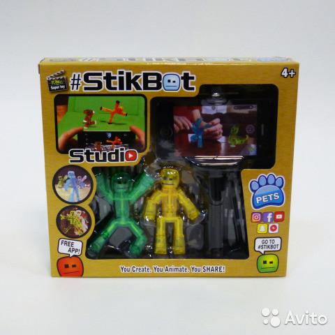 Набор для анимации, создания мультфильмов Stikbot