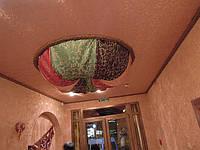 Натяжные потолки тканью цена с тканью и работой