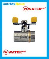 Кран Кульовий Газовий 1/2 Water Pro DN 15 PN 20 ГГБ