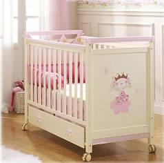 Кроватка детская BIG PRINCESSE PINK Micuna