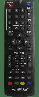 Пульт ДУ World Vision RCU - T59/T126/T56/T36 дистанционного управления для ресиверов