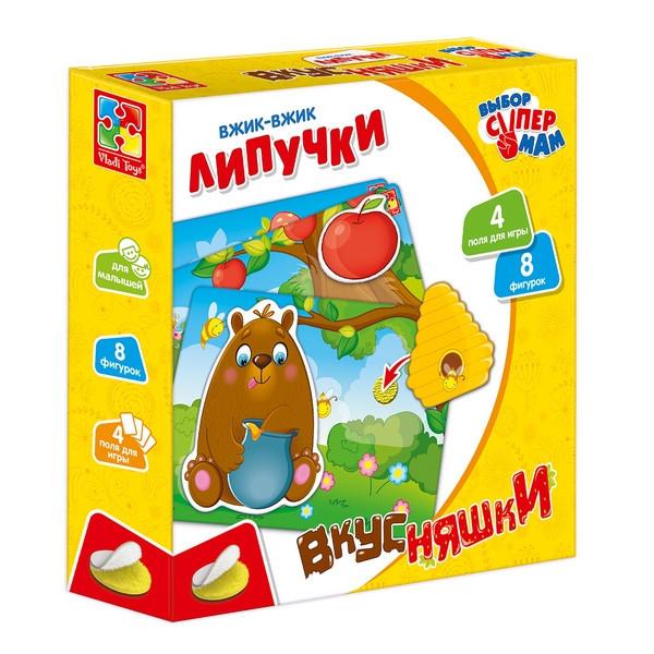 Влади-Тойс VT-1302-18 Игры с липучками Вкусняш