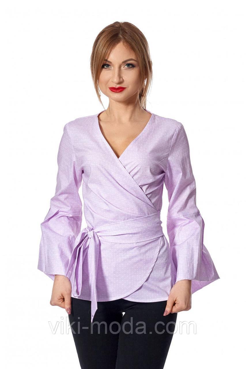 Женская рубашка-кимоно, розового цвета