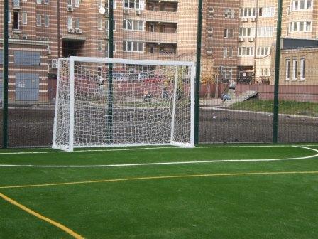 Ворота футбольные детские стальные 2000х1500 (не разборные) без полос - Спорт Світ в Киеве
