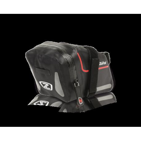 Сумка Zefal Z Dry Pack L (7044) подседельная, на ремешке, влагонепроницаемая, 1,2L, черная