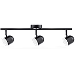 Спотовый светодиодный светильник (бра) MAXUS MSL-01C 3x4W 4100K Черный, фото 2